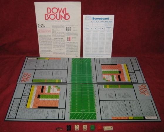 sports illustrated bowl bound college football game parts 1978