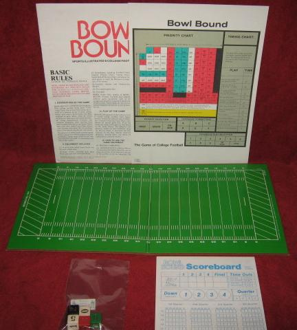 sports illustrated bowl bound college football game parts 1985