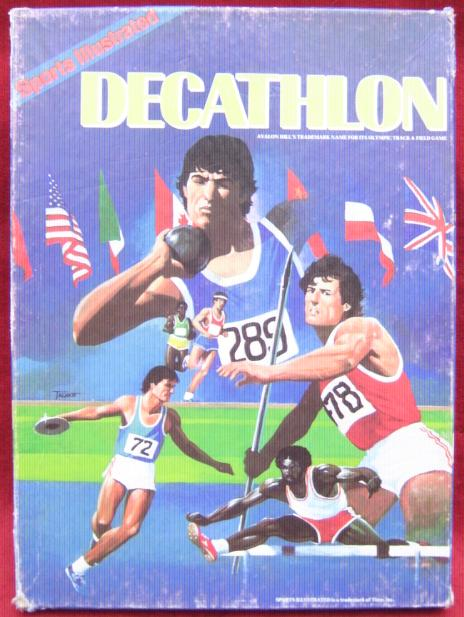 SPORTS ILLUSTRATED decathlon track meet Games