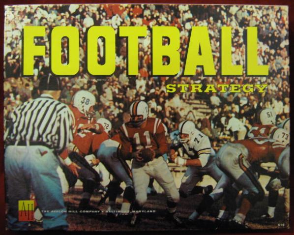 Avalon Hill Football Strategy Game Box 1962