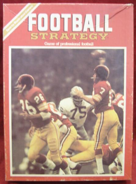 Avalon Hill Football Strategy Game Box 1978