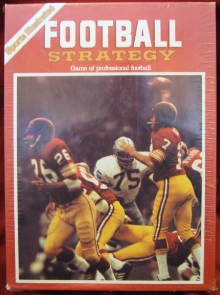 Avalon Hill Football Strategy Game Box 1982