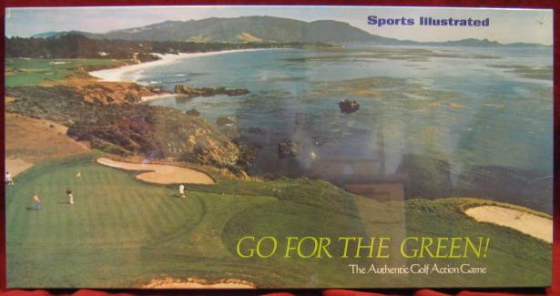 sports illustrated GO FOR THE GREEN game box 1973