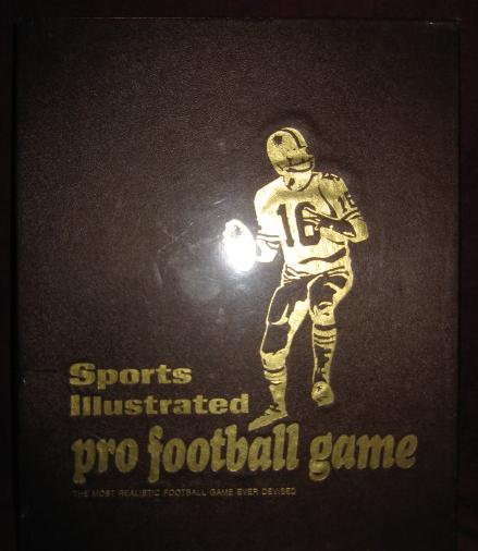 sports illustrated paydirt football game box 1970