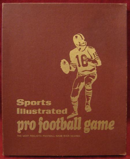 sports illustrated paydirt pro football game box