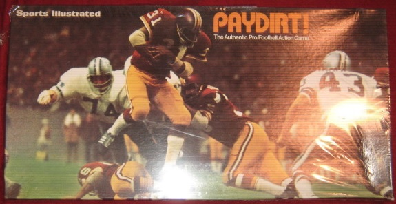 sports illustrated paydirt football game box 1972