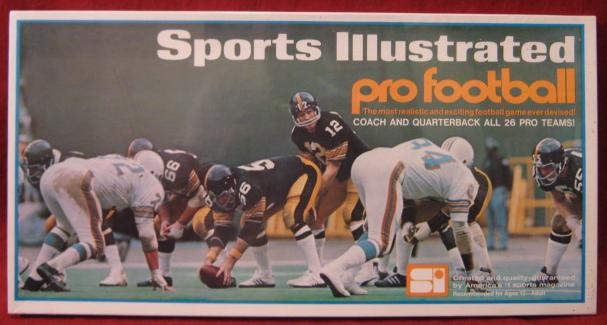 sports illustrated paydirt football game box 1973