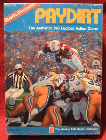 sports illustrated paydirt football game box 1988