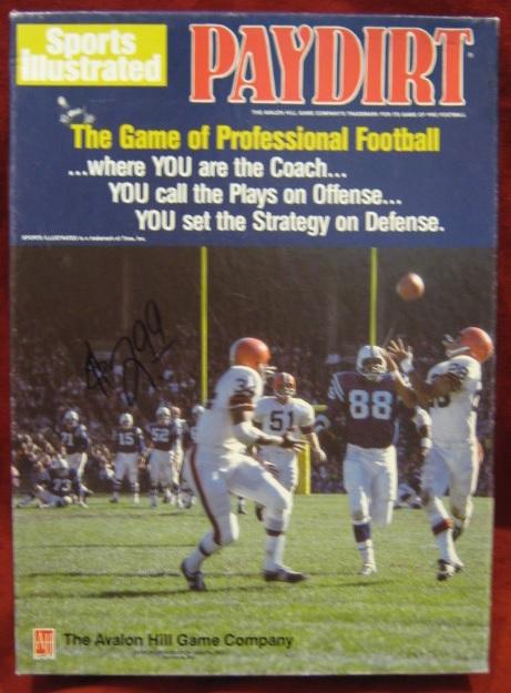 sports illustrated paydirt football game box 1989