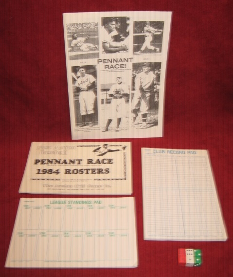 SPORTS ILLUSTRATED PENNANT RACE GAME PARTS