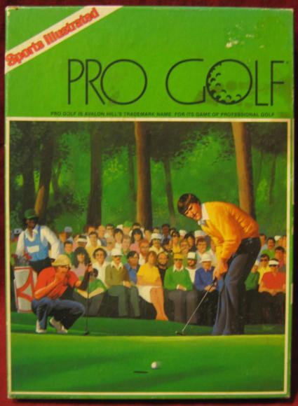 SPORTS ILLUSTRATED PRO GOLF Game box