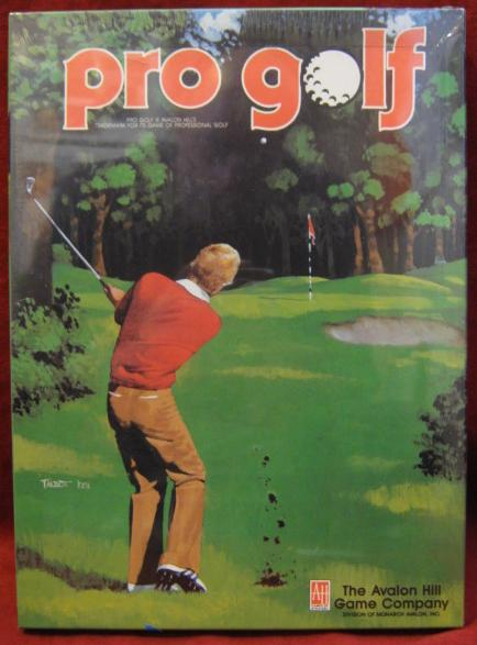 sports illustrated PRO GOLF game box 1988