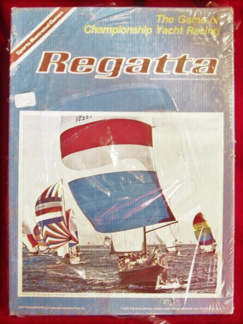 Avalon Hill Regatta game box