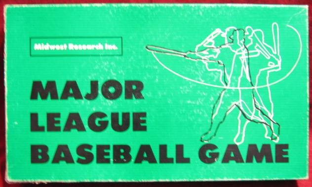 statis pro baseball game box 1972