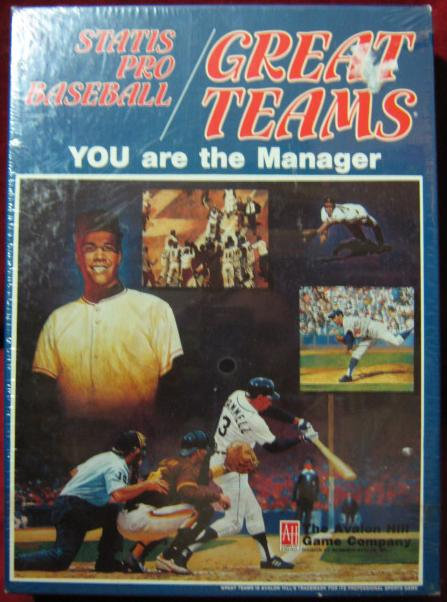 statis pro baseball game box great teams