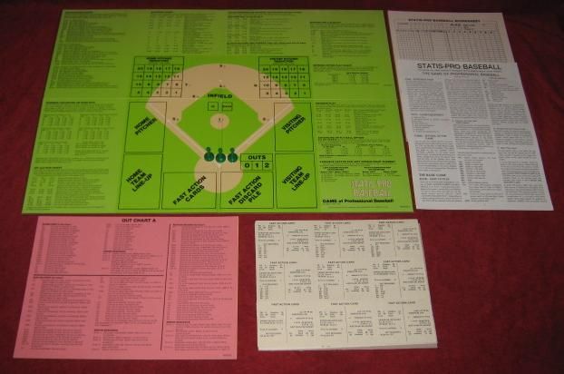statis pro baseball game parts 1985