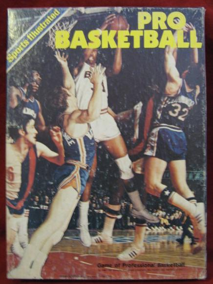 Avalon Hill / Sports Illustrated STATIS PRO BASKETBALL Game with 1985-86 Season