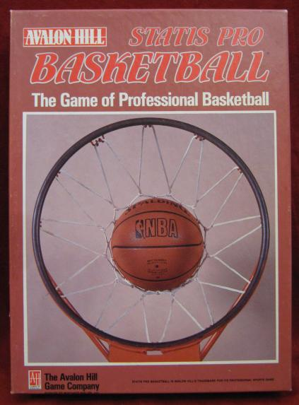 statis pro basketball game box 1991-92