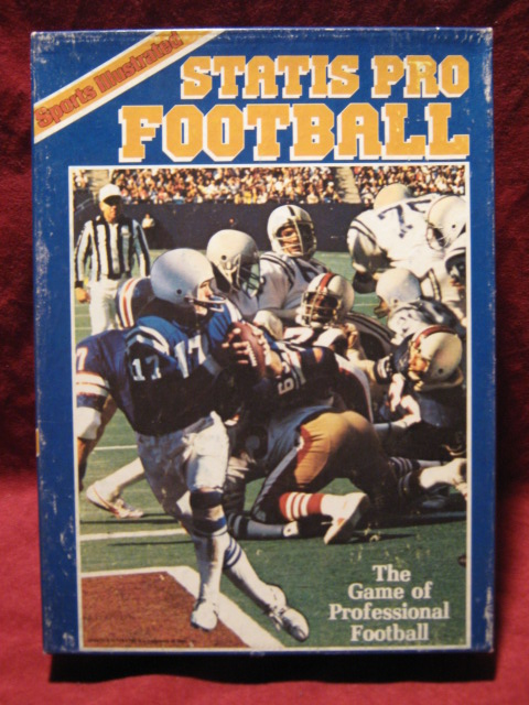 statis pro football game box 1982
