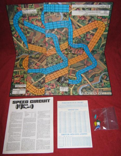 Avalon Hill Speed Circuit Game Parts 1979
