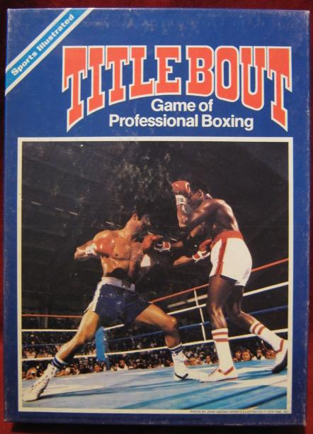 title bout boxing game box 1979