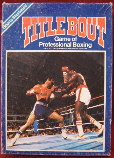 title bout boxing game box 1983-84