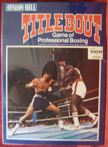 title bout boxing game box 1989
