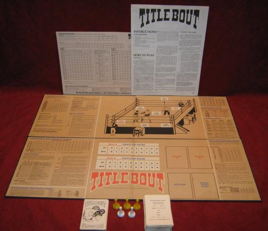 title bout boxing game parts 1979