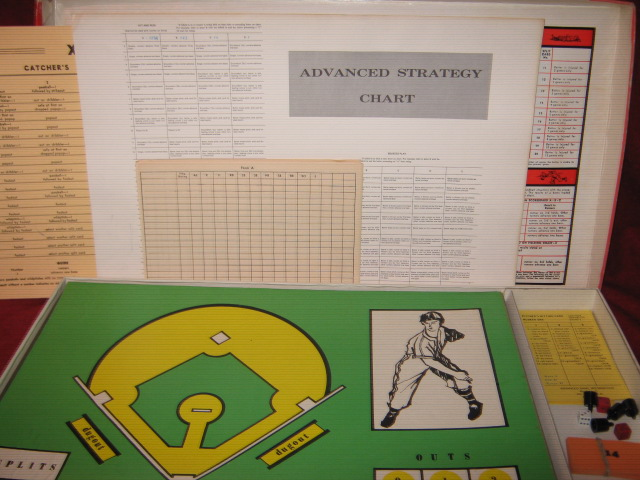 strat-o-matic baseball game parts 1973