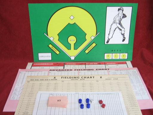 strat-o-matic baseball game parts 1975