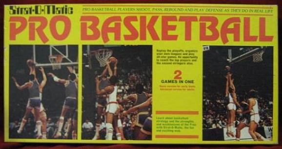 strat-o-matic basketball game box 1984-85