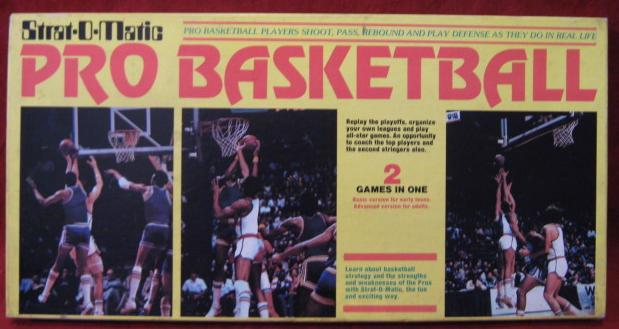 strat-o-matic basketball game box 1985-86