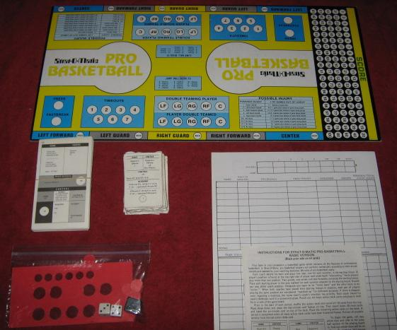 strat-o-matic basketball game parts 1985-86