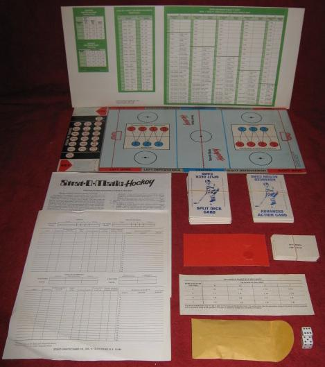 strat-o-matic hockey game parts 1979-80