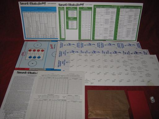 strat-o-matic hockey game parts 1997-98