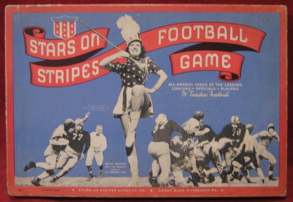 stars on stripes football game box