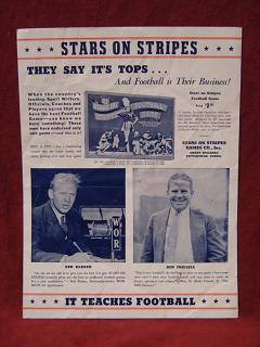 stars on stripes football game parts