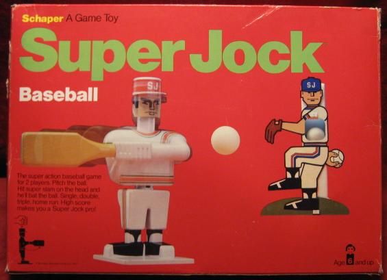 schaper super jock baseball 1976 edition