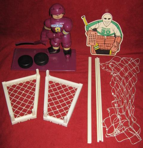 super jock stick hockey game parts 1976