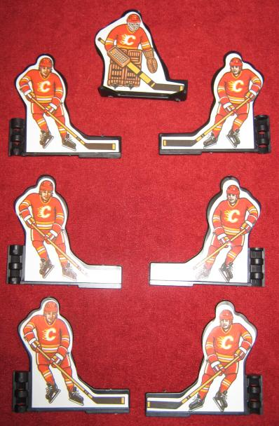 Coleco Table Hockey Game CALGARY FLAMES Team 1980s