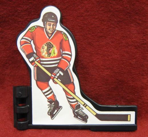 Coleco Table Hockey Game CHICAGO BLACKHAWKS Player 1980s