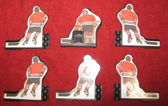 Coleco Table Hockey Game CHICAGO BLACKHAWKS Team 1980s