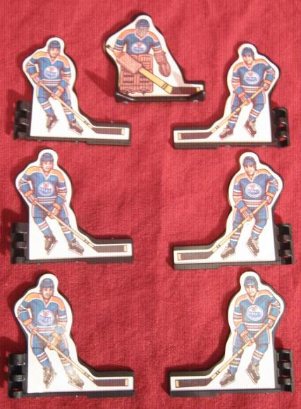 Coleco Table Hockey Game EDMONTON OILERS Team 1980s
