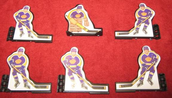 Coleco Table Hockey Game LOS ANGELES KINGS Team 1980s