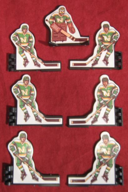 Coleco Table Hockey Game MINNESOTA NORTH STARS Team 1980s