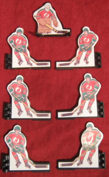 Coleco Table Hockey Game NEW JERSEY DEVILS Team 1980s