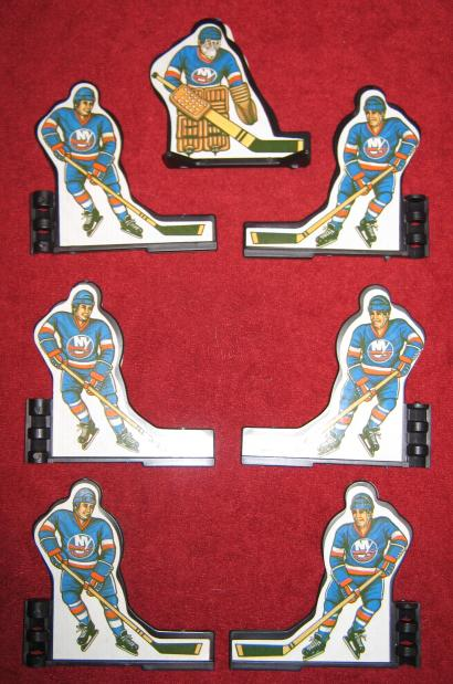 Coleco Table Hockey Game NEW YORK ISLANDERS Team 1980s