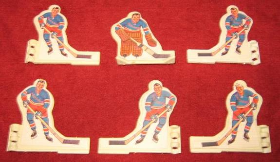 Coleco Table Hockey Game NEW YORK RANGERS Team 1970s