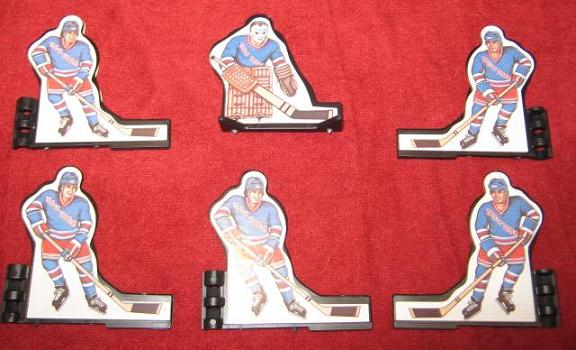 Coleco Table Hockey Game NEW YORK RANGERS Team 1980s