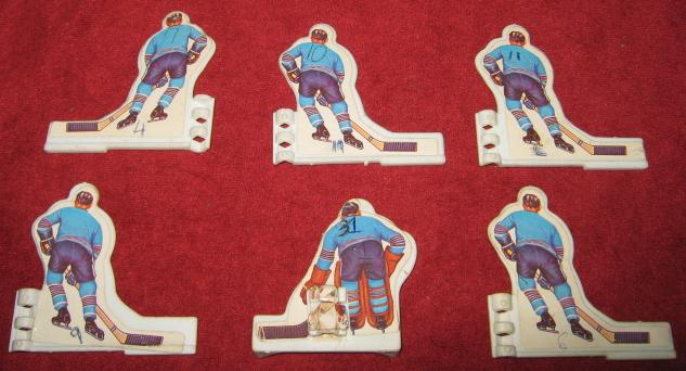 coleco table hockey game team back